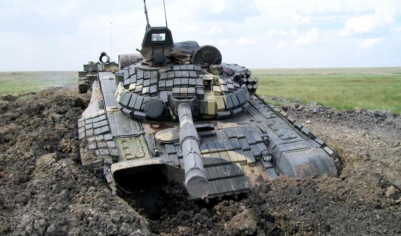 танк, поле, трава, россия, tanks, т-72,  техника, россия,, танки,
