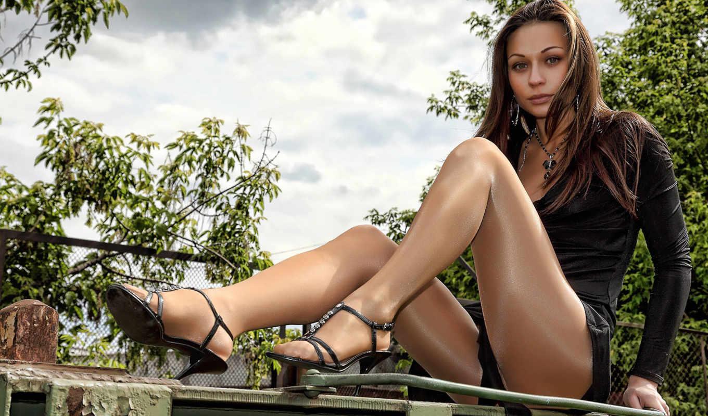 women, russian, pantyhose, legs, high, brunettes, feet, heels,