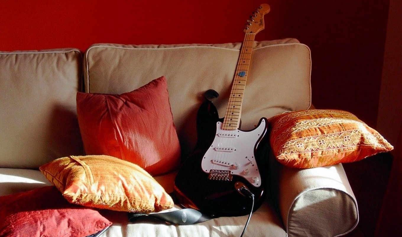 гитара, музыка, electro, без, регистрации,