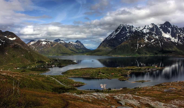 что скандинавия горы пейзажи фото чем больше рутиловых