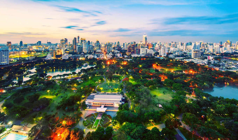 bangkok, город, бангкок, the, lumpini, тайланд, wa