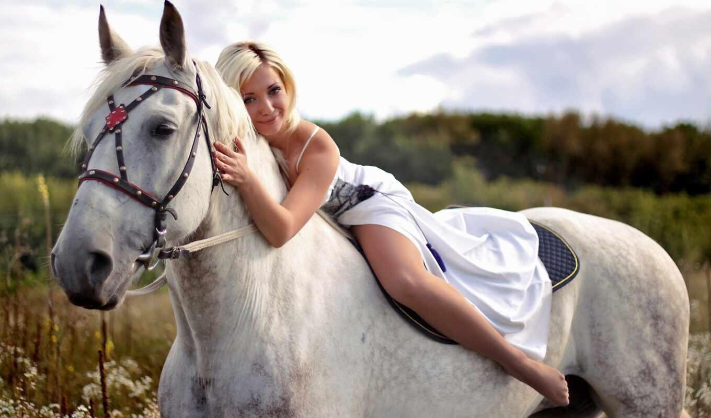 horse, лошади, прокатиться, wallpaper, всадник, девушка,