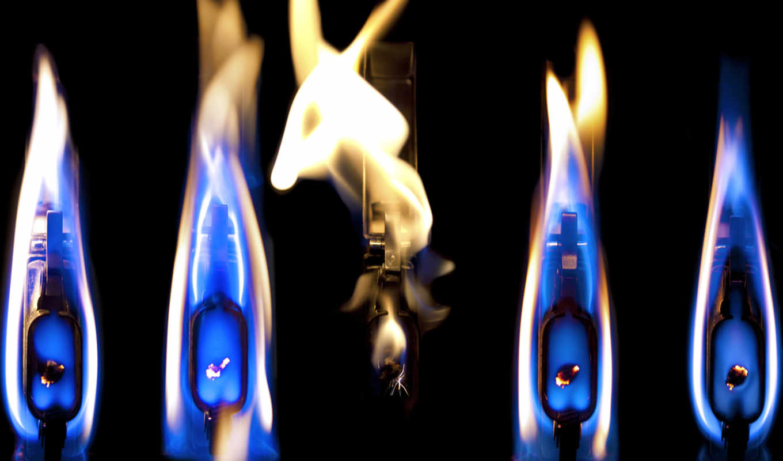 синий, огонь, картинка, пламя,