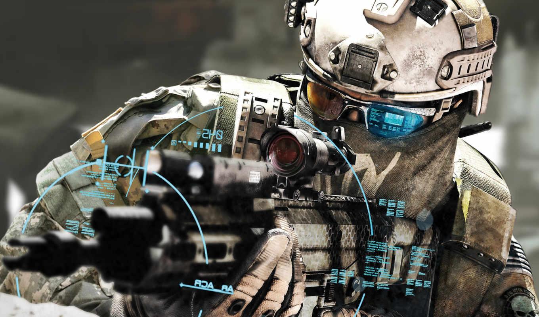 оружие, солдат, целится, перестрелка, ºé, future,