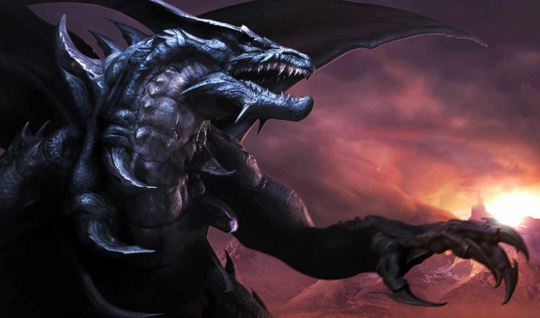 дракон, драконы, фэнтези,