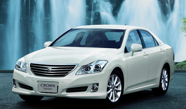 toyota, crown, car,