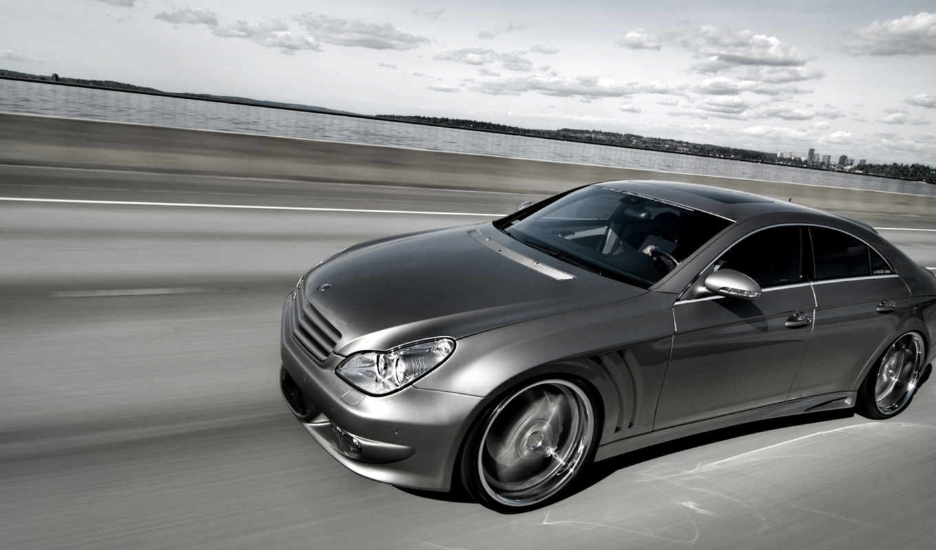mercedes, cls, highway, дорога, benz, amg,