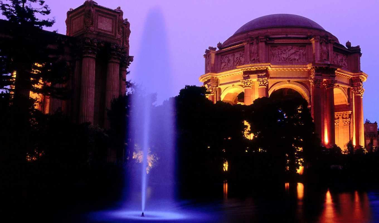 города, ночь, город, ночного,