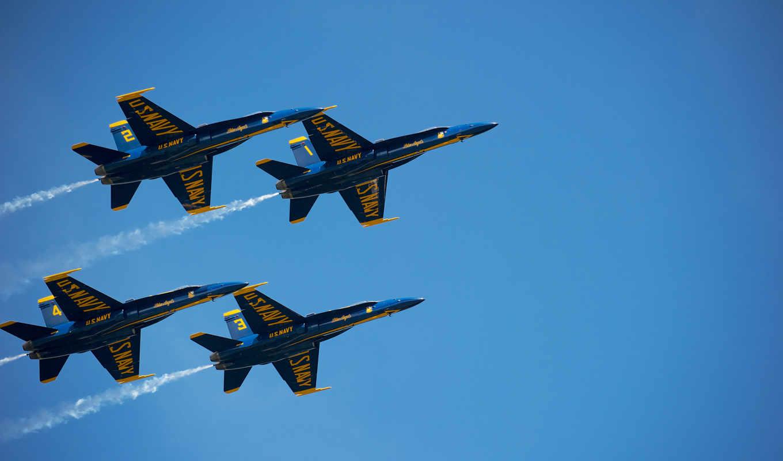 самолеты, небо, истребителя, коллекция, лучшая, неба, fone, четверо, голубого,
