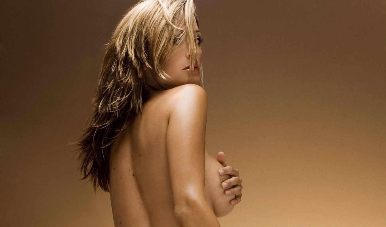 татуировка, спины, blonde, девушка,