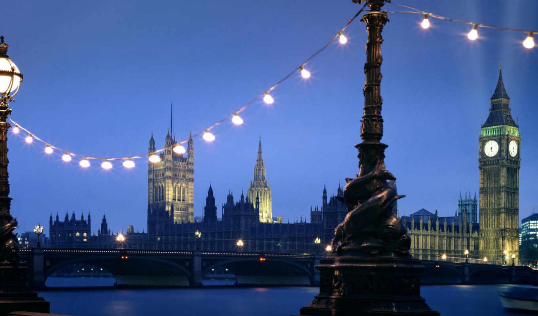 desktop, night, ben, england, westminster,