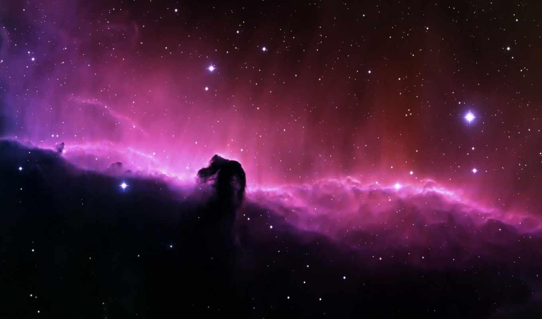туманность, голова, звезды, конская, space, desktop, смотрите, horsehead, nebulae, вселенная, единорога, free, сияние, elena, you, звездное,