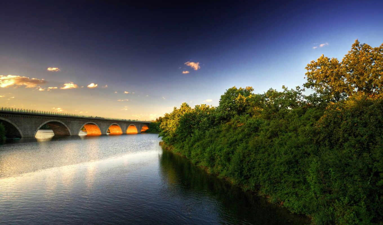 мост, июн, река, записи,