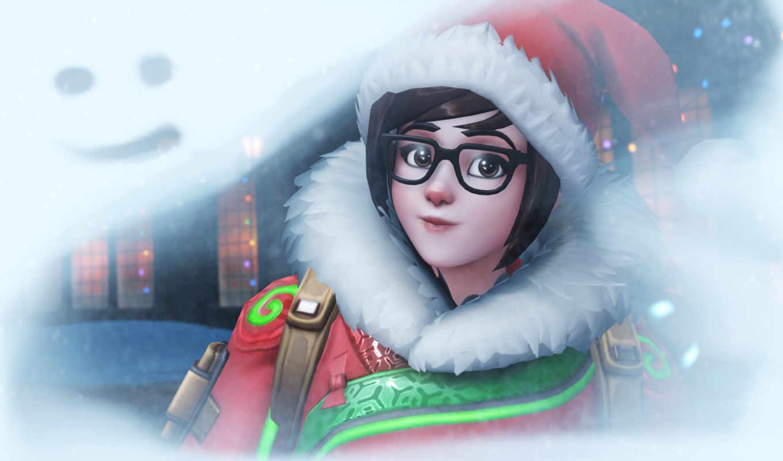 feliz, natal, overwatch, дек, videojuegos, игр, blizzard, winter, esports, wonderland,