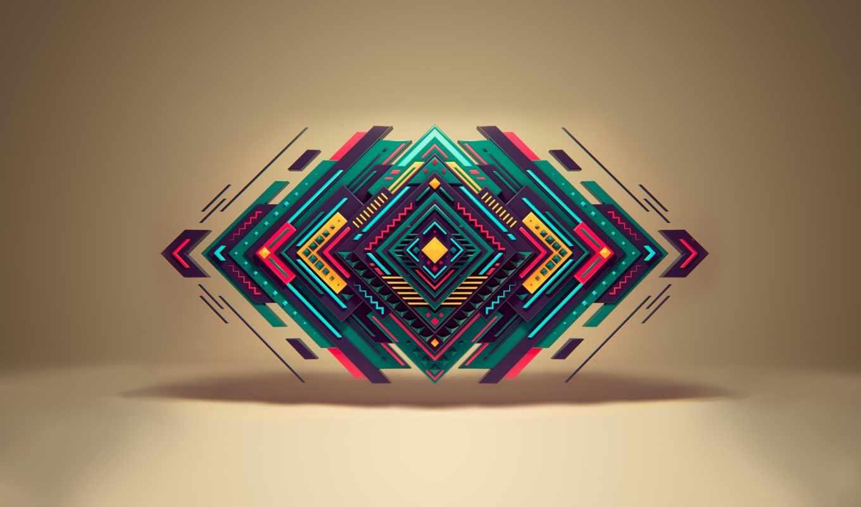 треугольник, геометрия, формы, black, imgator, artistic, abyss,