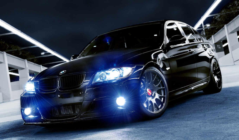 bmw, бмв, черная, авто,
