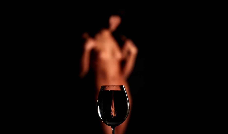 glass, девушка, отражение, вектор, кровь,