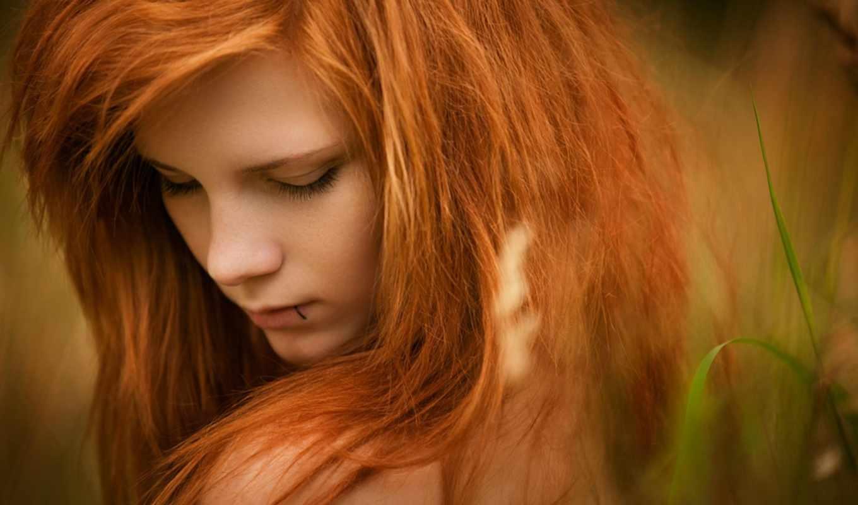 cvet, волос, рыжие, devushki, рыжий,
