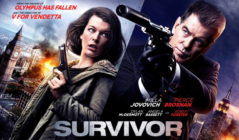 йовович, милла, movie, survivor, posters, плакат, броснан, pierce, movies, starring,