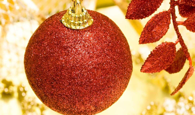 bulb, christmas, glitter, red,