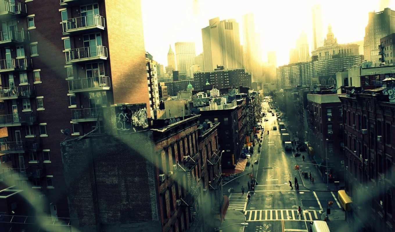 город, улица, new, york, картинка, usa, streets,
