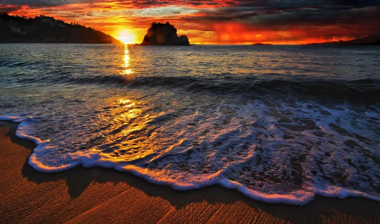 Обои красивые, пляж, фоновые, раздел Природа, размер 1920x1200 HD WUXGA -  скачать бесплатно картинку на рабочий стол и телефон