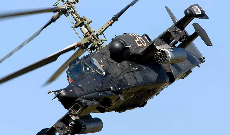 ка, акула, вертолет, одноместный, боевой, hokum, черная, камов, ударный,