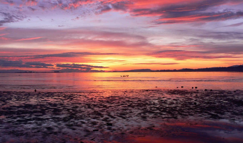 море, закат, небо, горизонт, рассвет, sunrise, солнца, пейзажи, солнце, ссылка,