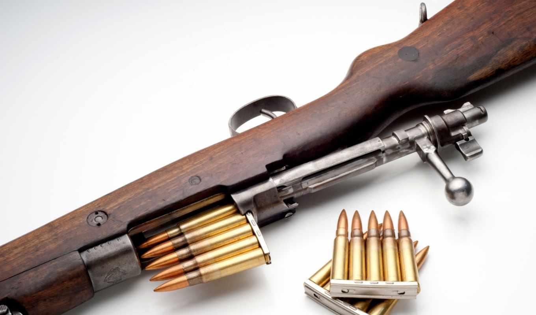 винтовка, патроны, маузер, weapon, мосина, изображение, затвор, картинку, картинка,