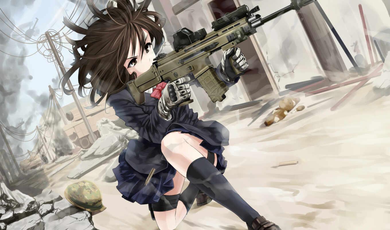 Картинки хентай с оружием