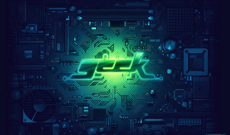 geek, motherboard