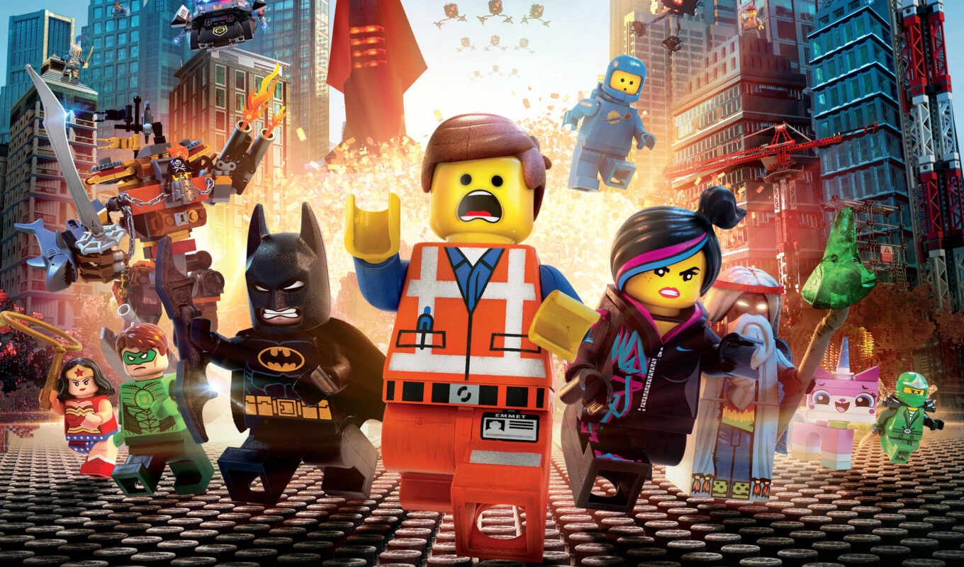 lego, movie, videogame, video, games, сниматься, февр,