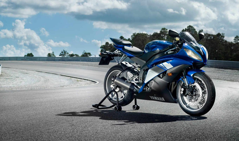 yamaha, мотоциклы, bike, трек, мотоцикл, спорт, race, yzf, мото,