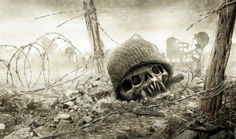 resistance, череп, medal, honor, война, смерть, ограждение, fall, free,