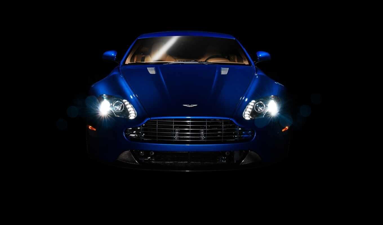 aston, martin, blue, car, cars, vantage,