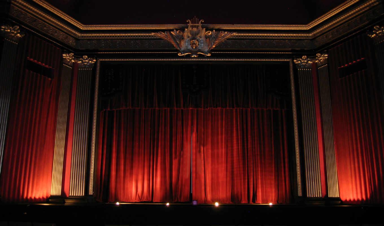 curtain, театр, картинка, theater,