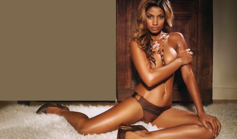sheryl, темнокожая, модель, грудь, красивый,,