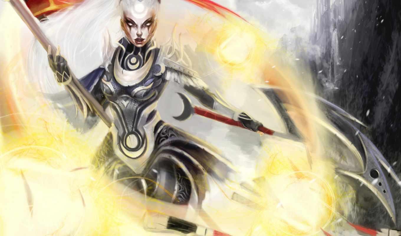 league, legends, diana, armour, fantasy, воители, игры, картинка, devushki,