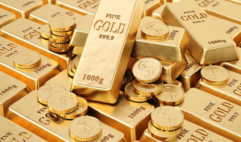 oro, fondo, pantalla, monedas, los, fondos, del, que,