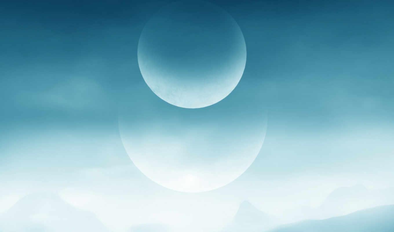 moon, minimalism,