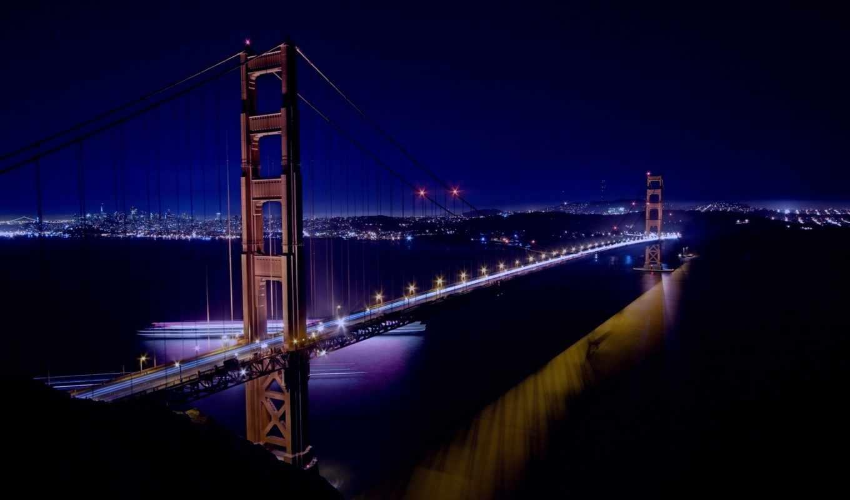 мост, золотые, gate, sana, francisco, золотистый, сша, город, мосты,