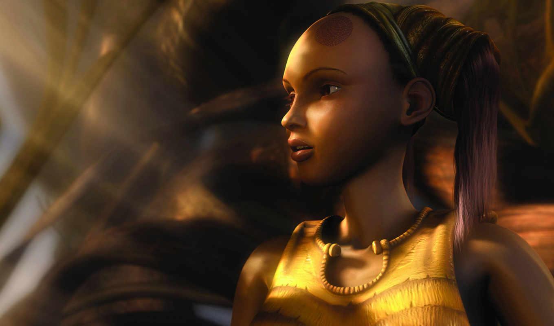 kaena, игры, game, видео, компьютерные, fantasy, games, girl, je, desktop, пророчество,