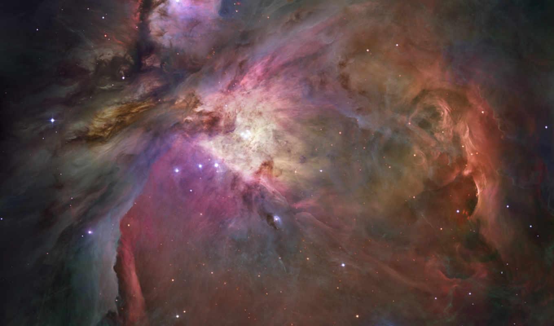 туманность, space, орион, созвездие, universe, картинка, ориона, фотографии, газ,