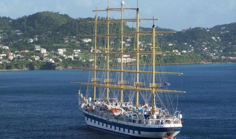 корабли, парусные, яхты, рабочем, столе, широкоформатные, прекрасные, вашем,