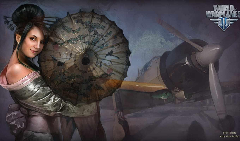 world, warplanes, art, оригинал, bolyakov, nikita, живопись, airplane, images,