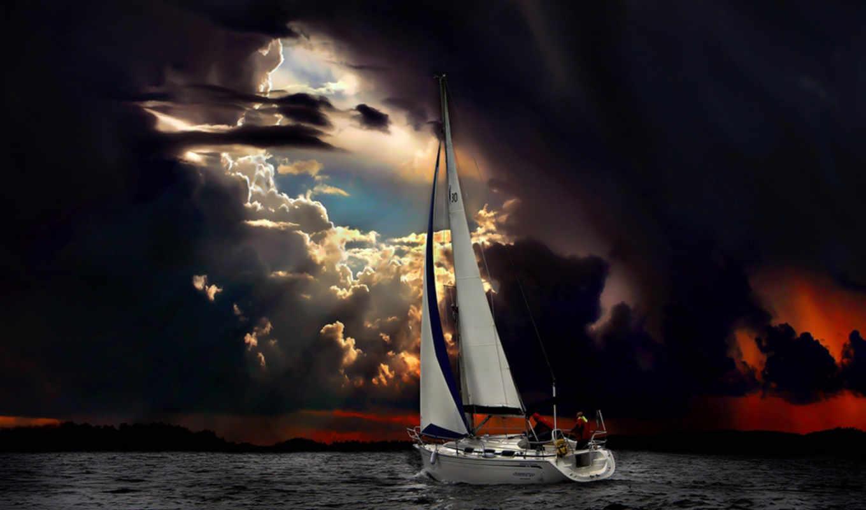 яхты, парусные, яхту, моторные, яхта, marine,