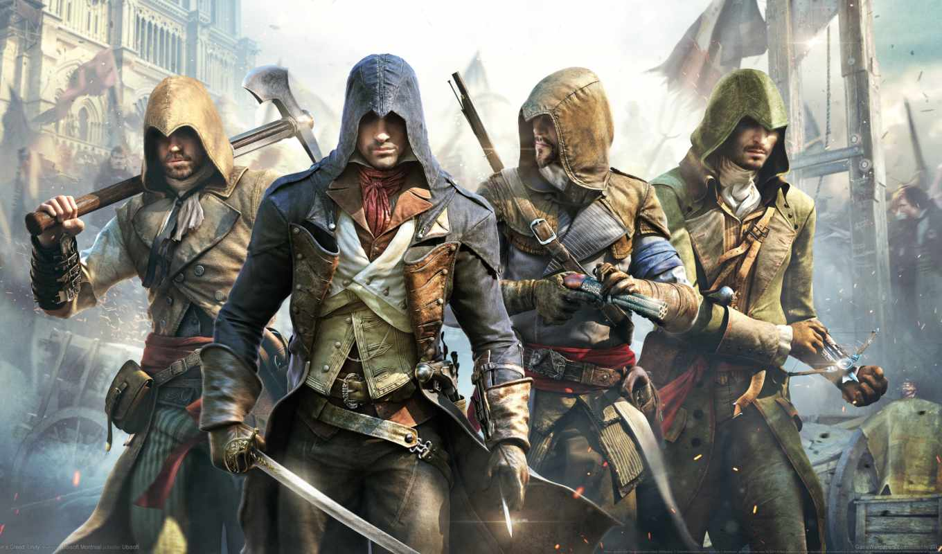 creed, assassin, unity, assassins,