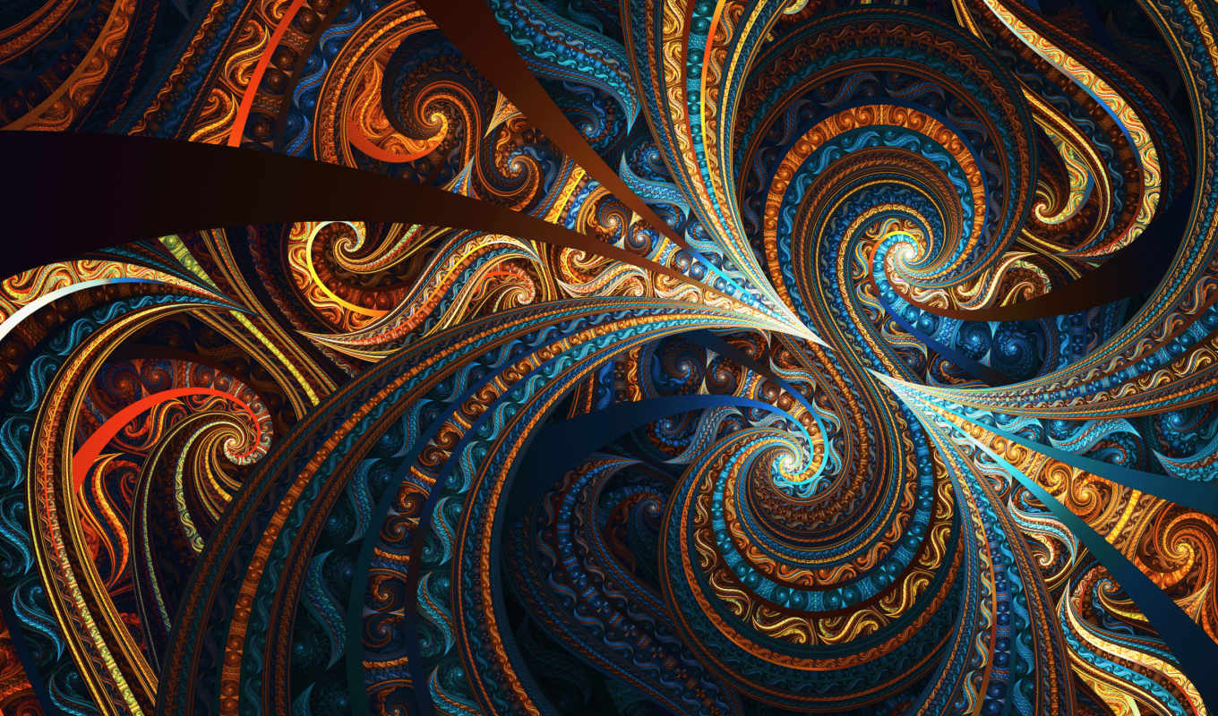fractal, colorful, design, resolutions, desktop, abstract,