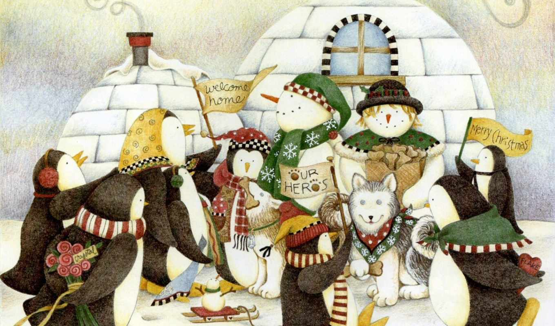 открытки, год, новый, рождество, mumm, праздники, art, рождеством, debbie, дек, иллюстрации, открытка, holidays, home, история, рождественская, ссылка, painting, прикольная, снеговики,