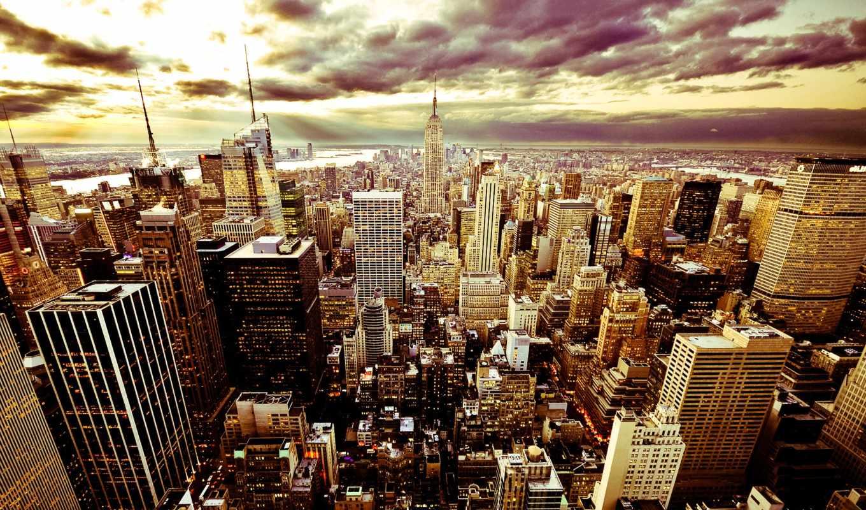 красивые, york, нью, new, дома, twilight, города, город,, домики,